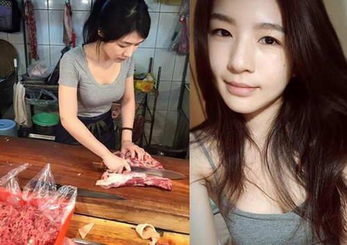 """""""猪肉西施""""张采婕"""
